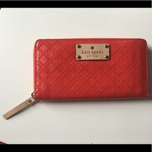 Kate Spade patent leather wallet